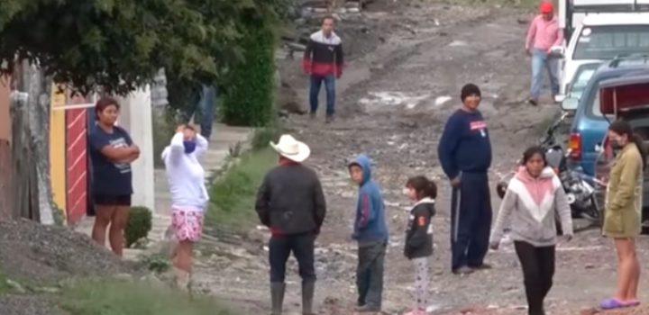 """En  Puebla, covid sí le da a los pobres; dicen """"lávate las manos y ni agua nos dan"""""""