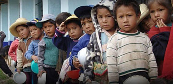 Crisis por Covid-19 agrava desnutrición en los niños