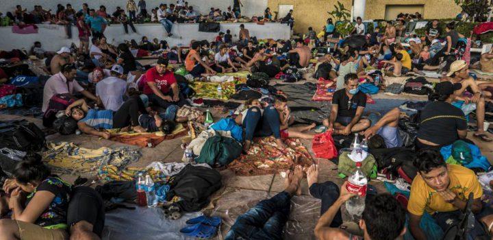 Hondureños arrancan hoy cuarto intento de caravana