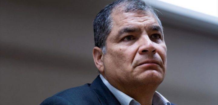 Correa irá por Vicepresidencia de Ecuador en 2021