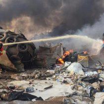 Suman 135 muertos y más de 5 mil heridos por explosión en Beirut