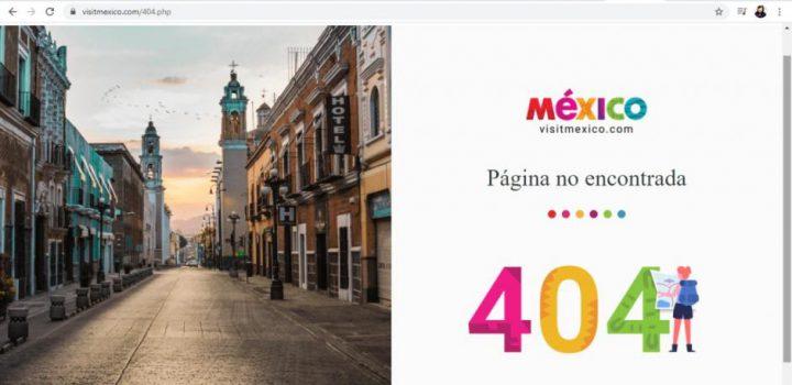 En el relanzamiento de VisitMéxico, la página falla