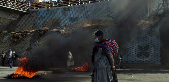 Bolivia: crecen protestas; gobierno pide «meter bala»