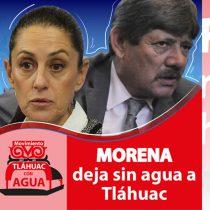 Ante desabasto de agua y con cadena humana, el Movimiento por el Agua en Tláhuac (MAT) exigirá solución