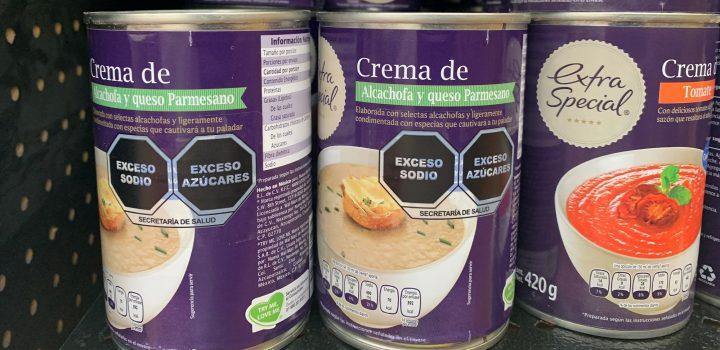 Gobierno de México aplaza hasta diciembre el nuevo etiquetado para alimentos