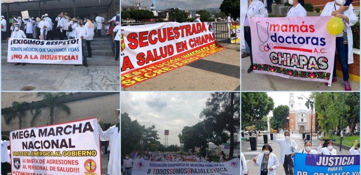 Solidaridad médica por injusticia de MORENA en Chiapas