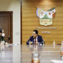 Omar Fayad pide suspender elecciones en Hidalgo