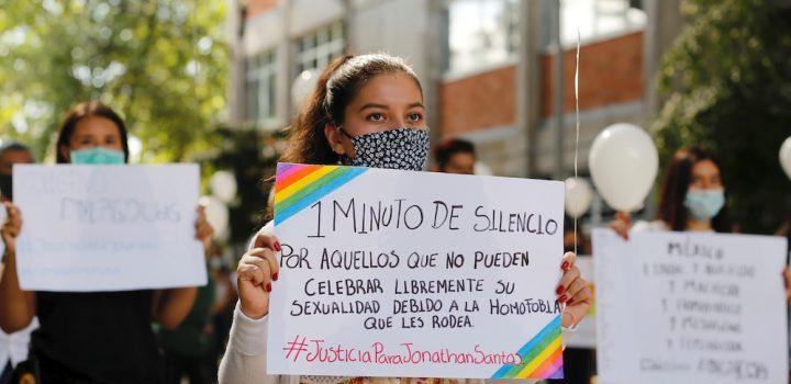 Estudiantes protestan en Jalisco para exigir justicia por el activista Jonathan Santos