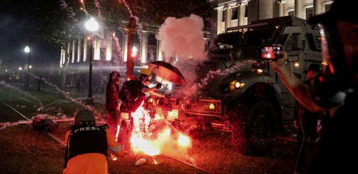 Estado de emergencia en Wisconsin, siguen protestas