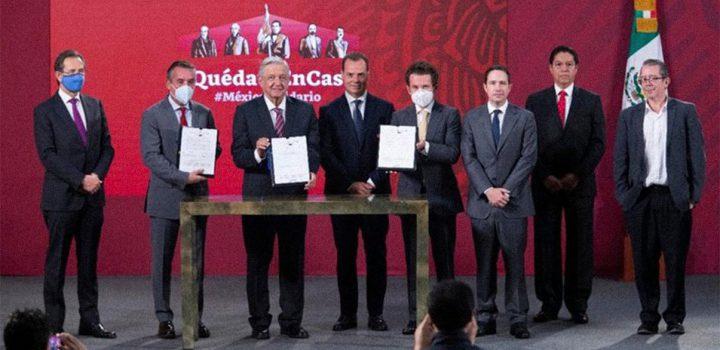 Empresarios a cargo de la educación en México
