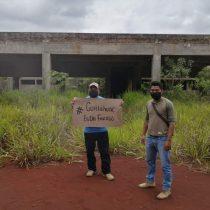 En el abandono obras de salud en Soteapan