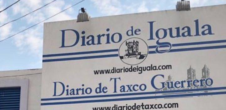 Ataque armado a un periódico de Iguala