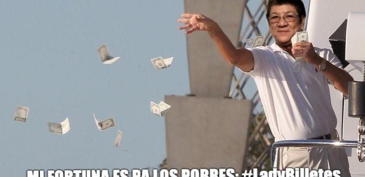 Cachan a diputada de MORENA contando billetes en zoom