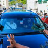 Manifestantes bloquean paso a AMLO en Acapulco para exigir apoyo ante crisis