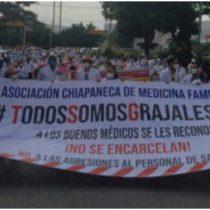 Otorgan libertad condicionada al doctor Grajales Yuca en Chiapas