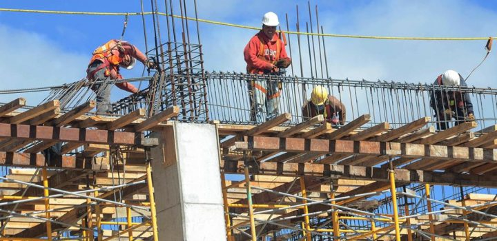 Construcción perdió 164 mil 264 empleos formales