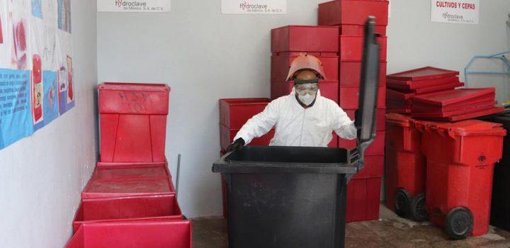 Residuos peligrosos, otro riesgo en la pandemia
