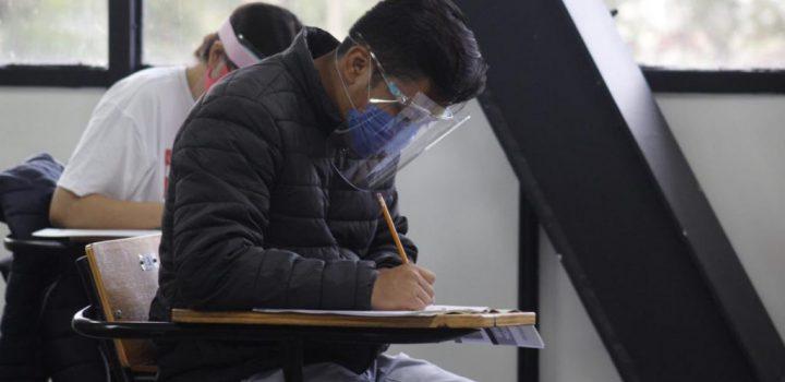 IPN aplica examen de admisión a nivel superior con medidas sanitarias