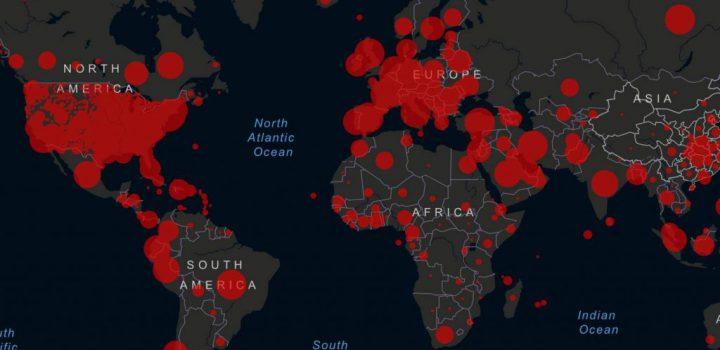 El mundo supera los 18 millones de contagios por Covid-19