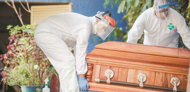 México suma 579 mil 914 casos y 62 mil 46 muertes por Covid-19