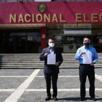 PAN presenta denuncia ante el INE contra Pío López Obrador, David León y Morena por uso indebido de recursos