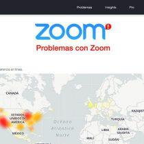 Zoom falla a nivel mundial; regreso a clases virtuales en México se ve afectado