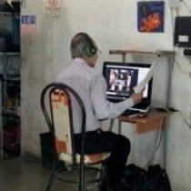 No solo los alumnos, maestros no tienen internet