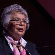 Olga Sánchez Cordero comparecerá mañana en el Senado