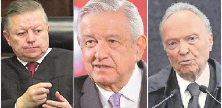 Gertz Manero y Arturo Zaldívar no acuden a segundo informe de AMLO