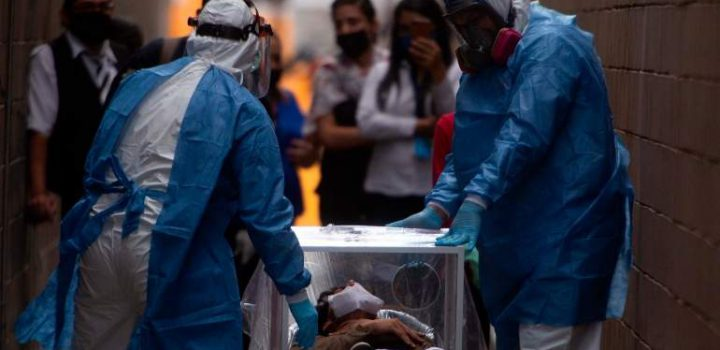 Rebasa México las 75 mil muertes por Covid-19