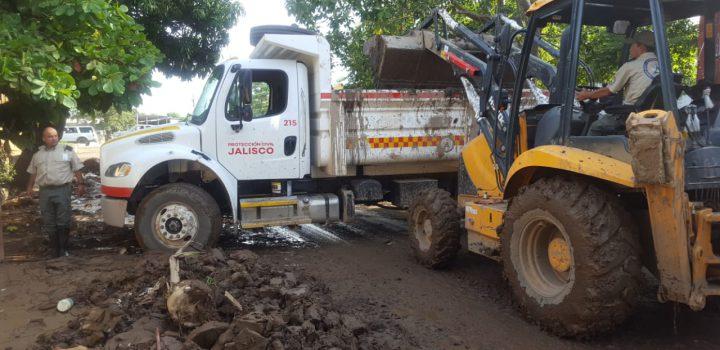 Comunidades de Jalisco siguen incomunicadas tras tormenta Hernán