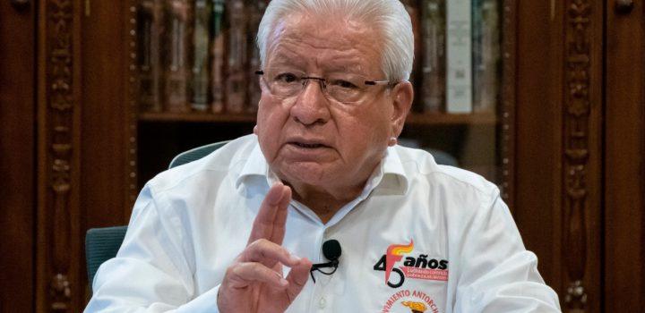 Llama Antorcha a rescatar a México, tras dos años de malos resultados del gobierno de Morena