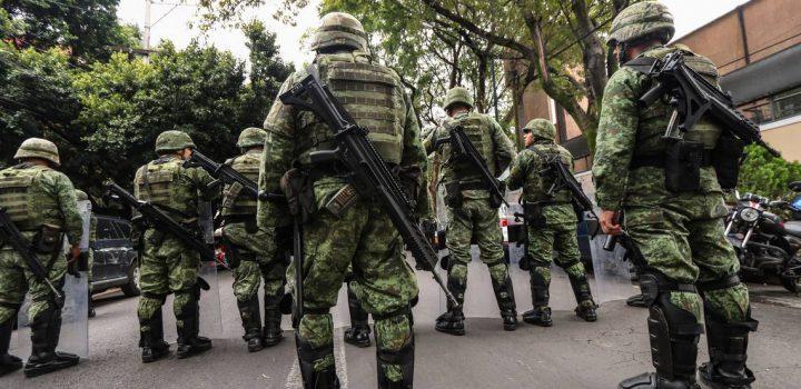 SCJN proponen desechar queja contra militarización