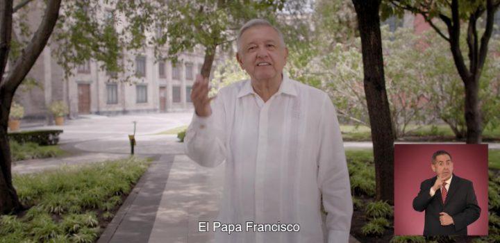 INE baja spot de AMLO por hablar del Papa