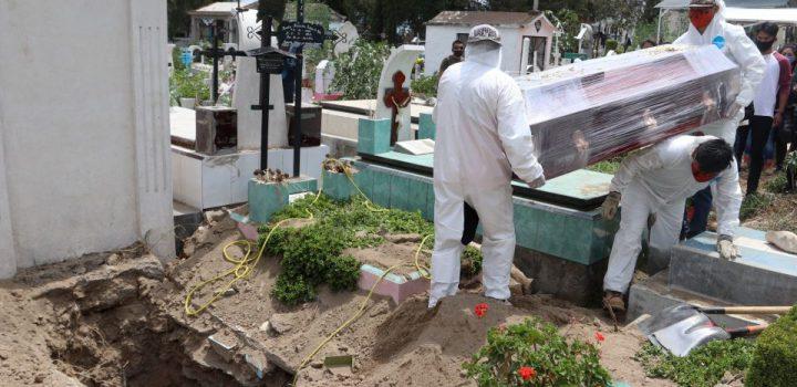 Suma México 74 mil 349 muertes por Covid
