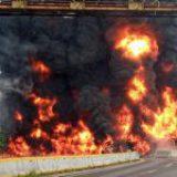Explosión de una pipa en Tabasco deja cuatro muertos