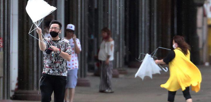 Desalojan a más de 5 millones de personas en Japón por tifón 'Haishen'