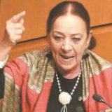 """Senadora de Morena llama """"sátrapa"""" a ministro que busca invalidar la consulta sobre expresidentes"""