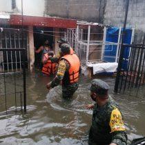 Lluvias dejan 50 mil personas afectadas en Tabasco, Veracruz y Chiapas