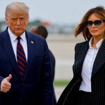 Donald y Melania Trump dan positivo a Covid-19