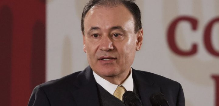 Alfonso Durazo presenta renuncia formal al gabinete