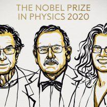 Premio Nobel de Física 2020 fue para tres investigadores de los agujeros negros