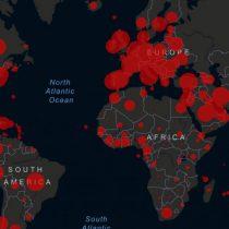 En cuatro países, la mitad de las muertes por Covid-19 en el mundo