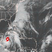 'Zeta' se convierte en huracán categoría 1