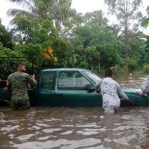 Lluvias deja municipios incomunicados en Chiapas