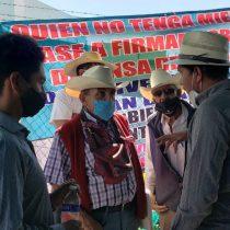 «No esperábamos esto del Presidente»; reprimen manifestación contra la termoeléctrica en Huexca