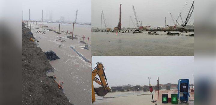 Refinería de Dos Bocas se inunda por quinta ocasión
