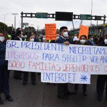 Crisis en Interjet: miles de trabajadores denuncian falta de pagos