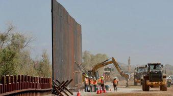 Aceleran obras del muro de Trump antes de que Biden las frene