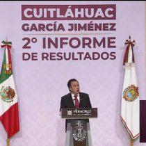 Presume Cuitláhuac García cero impunidad en Veracruz